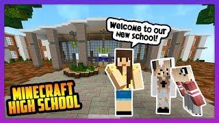 FIRST DAY OF HIGH SCHOOL! - Minecraft High School