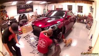 Lightner Motorsports 2016 Hyundai Veloster Turbo Build SEMA 2016 VelosterFlares.com