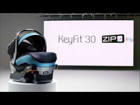 Chicco KeyFit Zip Infant Car Seat - YouTube