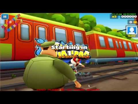 Subway Surfers Games free review to watch & Play - Android Games On Pc 2015 Full HD Quality New