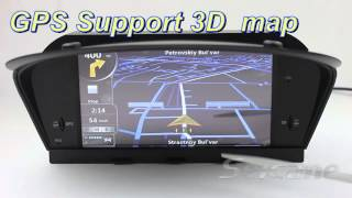 BMW E60 navigation