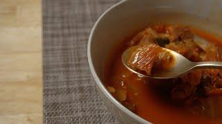 (ENG) 간단해도 맛은 끝내주는 돼지고기 김치찌개!!