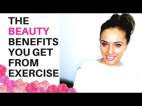 THE BEAUTY OF EXERCISE – how exercise can give you glowing skin and slow down the aging process