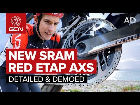 New SRAM RED eTAP AXS - Detailed & Demoed