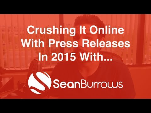 Crushing It Online With Press Releases in 2015