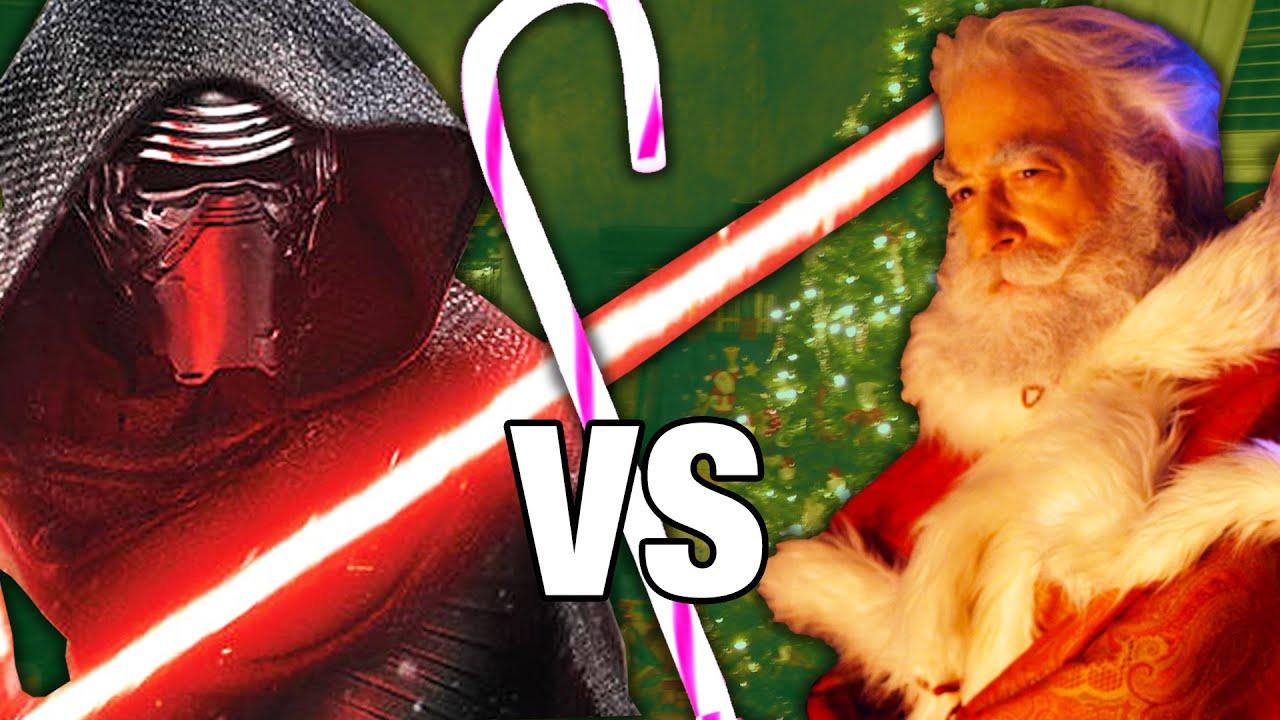 Kylo Ren Vs Santa Claus The Ultimate Christmas