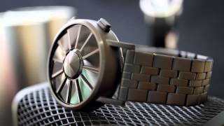 Kisai Blade Turbine Style LED Watch Design From Tokyoflash Japan
