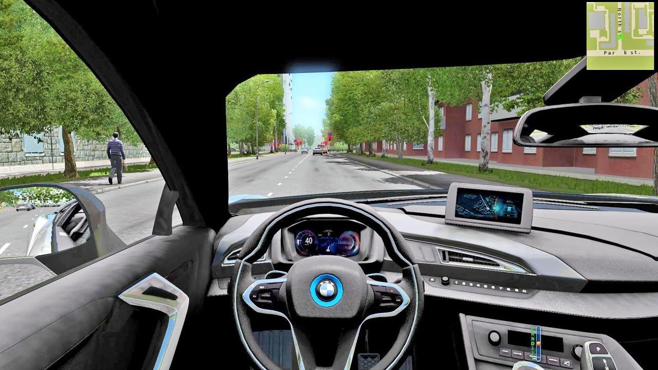 Bmw I8 City Car Driving Simulator Youtube