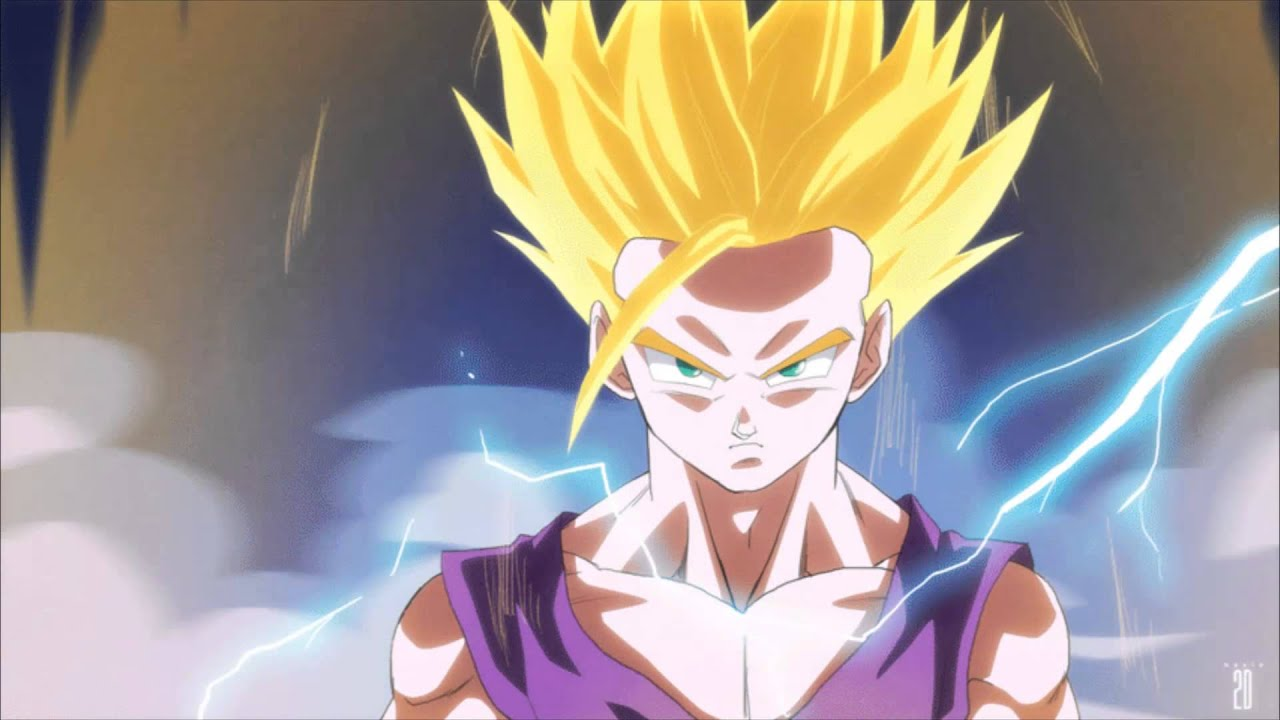 Goku Ssj Wallpaper Hd Gohan S Anger Theme 1080p Hd Youtube