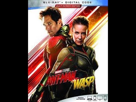Opening To Ant-Man And The Wasp 2018 Blu-Ray