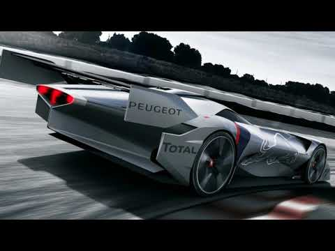 WOW !!! Peugeot designs rear engine hybrid for Gran Turismo Sport