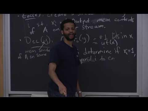 Algorithms for Big Data (COMPSCI 229r), Lecture 3