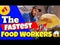 The Fastest Food Workers Compilation