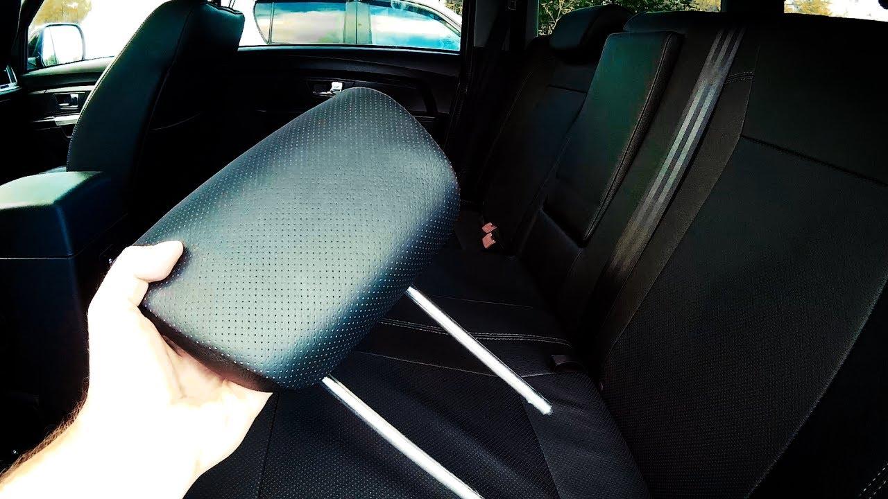 УАЗ ПАТРИОТ 2017: Как снять задний подголовник и правильно разложить заднее сиденье?