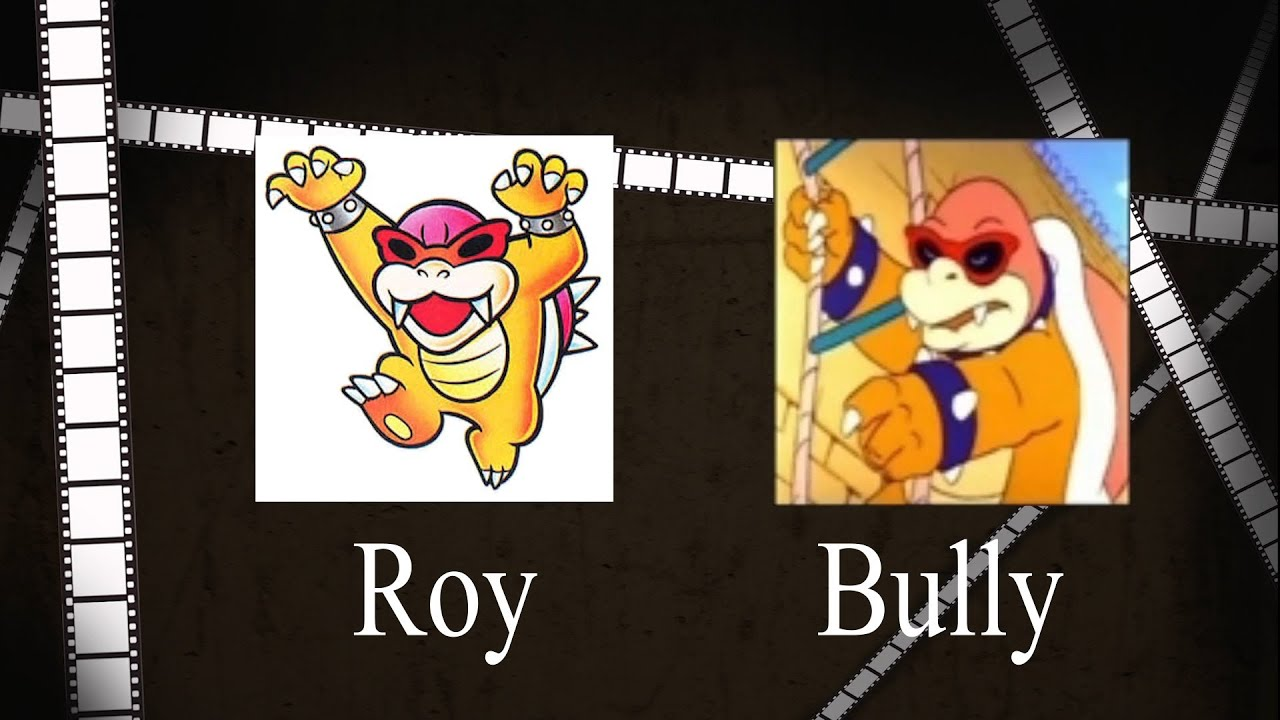 The Different Names of the Koopa Kids
