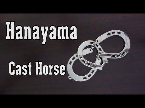 Playing Horseshoes! Hanayama Cast Horse