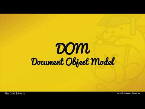 An Introduction to the DOM (Document Object Model) in JavaScript