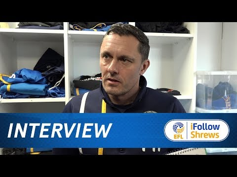 INTERVIEW | Paul Hurst pre Rochdale - Town TV