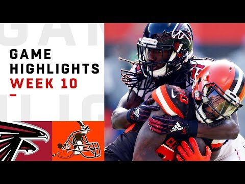 Falcons vs. Browns Week 10 Highlights | NFL 2018