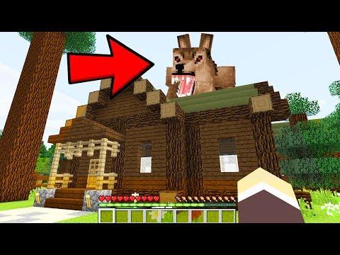 Minecraft: ACAMPAMENTO DOS YOUTUBERS - AMIGOS PROTEGEM A CIDADE DO LOBISOMEM GIGANTE !! #6