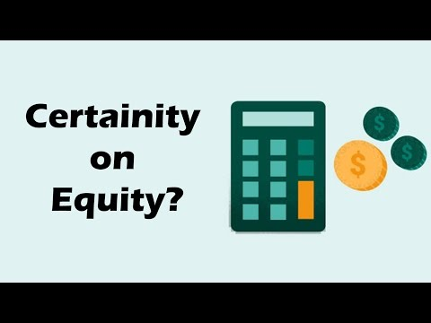 Certainty of equity returns over long term