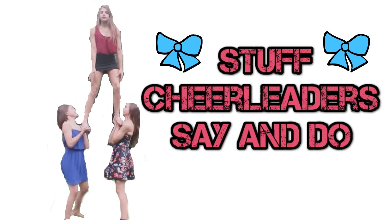 Cheerleading stuff