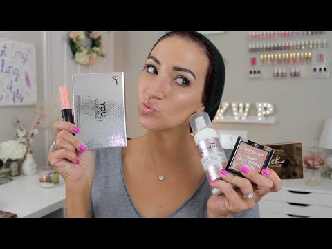 April Beauty Favorites & New Products I'm Loving!!! Benefit, Wet n Wild & More!! 2016
