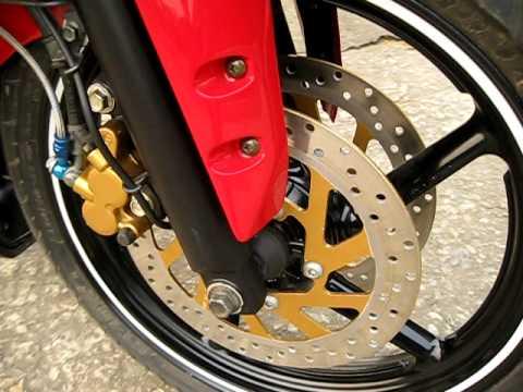 Pulsar Krp Hypersports 2011 Front Double Disk Brake