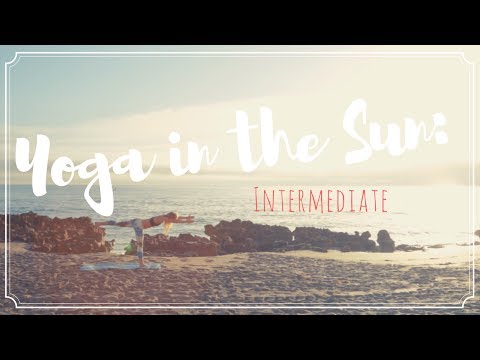 Yoga In The Sun: Intermediate Full Workout Part 2 | Salt Life