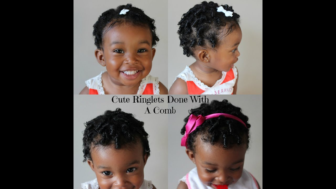 How to comb baby girl hair