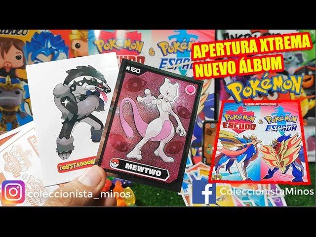 Álbum Pokémon Sword & Shield de New Geeks - 2da Apertura extrema de sobres (figuras + MUÑECOS!!) #1