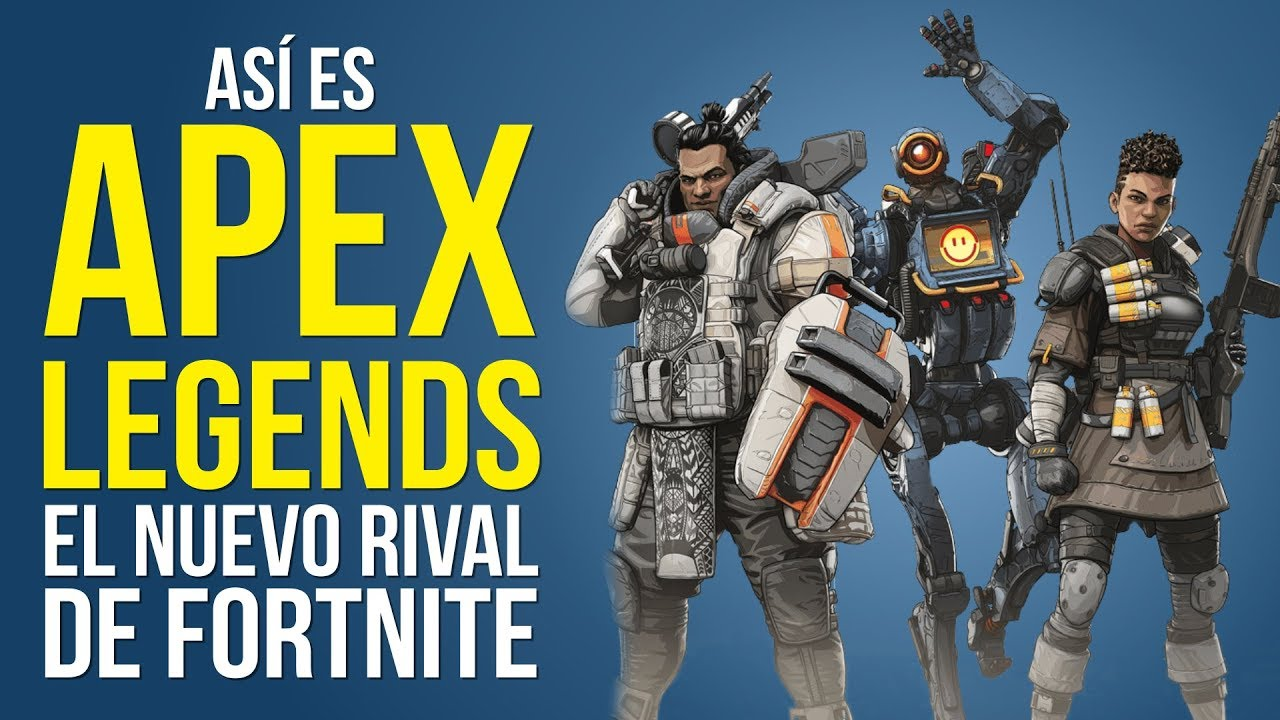 Así es APEX LEGENDS, el BATTLE ROYALE de los creadores de TITANFALL