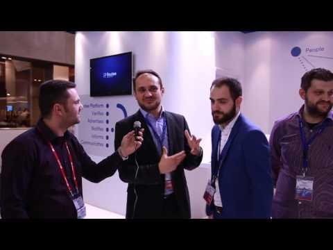 Παρουσίαση του booth της Routee - AMD Telecom (MWC 2016)