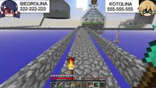 Miraculum Minecraft#5 Śpiew Biedronki i Kota SkyBlock