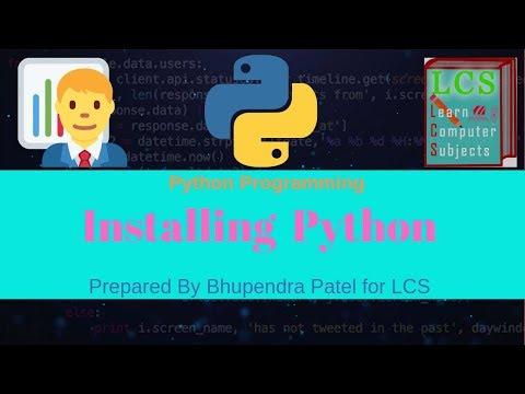 Installing Python | Complete Python tutorial in Hindi thumbnail