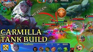 Carmilla Tank Build,Tanky Support - Mobile Legends Bang Bang