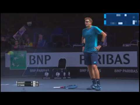 Richard Gasquet - Denis Istomin. Highlights. ATP 250 Metz