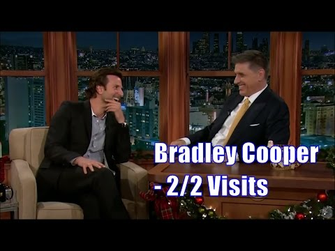 "Bradley Cooper - ""I'm A Big Fan Of This Show"" - 2/2 Visits In Chronological Order"