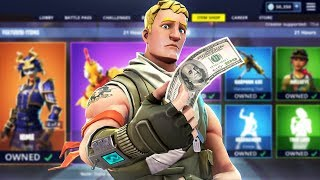 Download Fortnite made me buy every skin... Mp3 and Videos