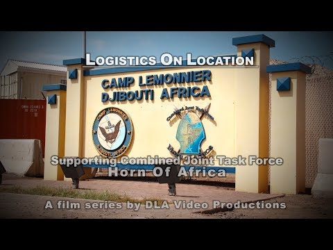 Logistics On Location: Supporting Combined Joint Task Force, Horn of Africa (YouTube Cap)