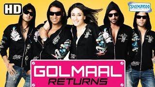 Golmaal Returns (HD) Hindi Full Movie in 15mins | Ajay Devgan | Kareena Kapoor | Tusshar Kapoor