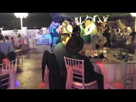 Dj Charlie gets interactive and fills up the dancefloor with Couples @ Wedding Reception, Pomona, CA