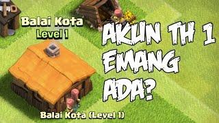 Akun COC Aneh Dan Misterius, TH 1 Emang ada ? - Clash Of CLans Indonesia -  MISTERI COC