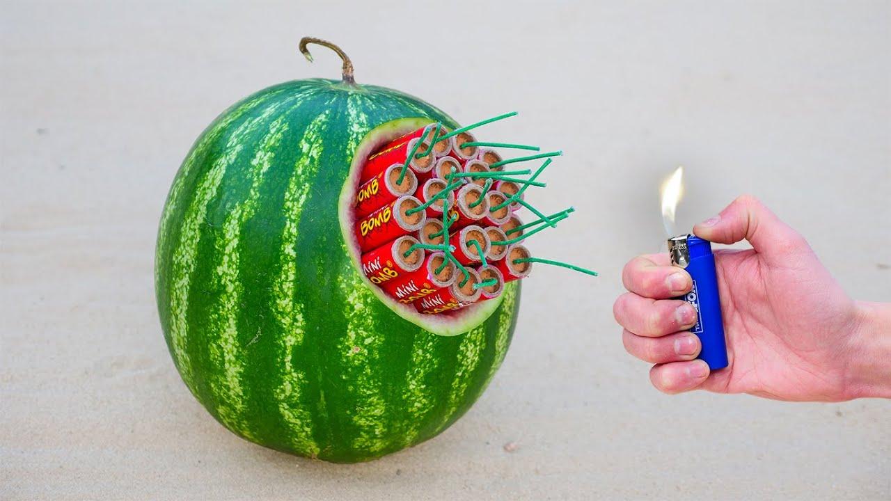 EXPERIMENT: XXL Rocket VS Watermelon