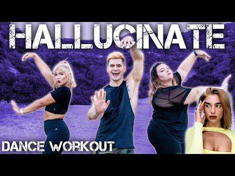 Dua Lipa - Hallucinate   Caleb Marshall   Dance Workout