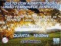 554  05 03 2017 - Culto de Senhoras - AD Pinheiro