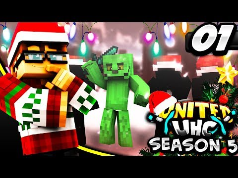 United UHC S5E1 - How the Grinch Stole Christmas (Minecraft PvP)