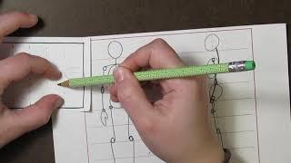 "3rd Grade Mushers - Drawing a Human: Part 1 the ""Skeleton"""