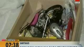 Familia sufrió violento asalto al interior de su vivienda en Santiago Centro