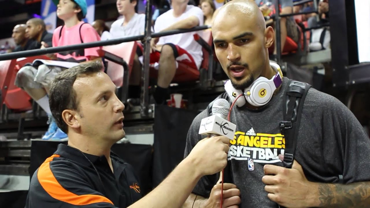 2013 NBA Summer League  Lakers Center Robert Sacre (Exclusive) - YouTube d54ca73c0